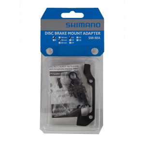 Shimano SM-MA-F180P/S Front Adapter 180mm Post Mount IS2000
