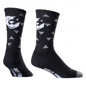 Wolf Tooth Components Triangle Wooligan Socks