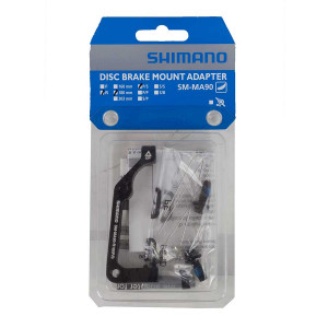 Shimano SM-MA90-R180P/S Rear Adapter 180mm Post Mount IS2000 Lightweight