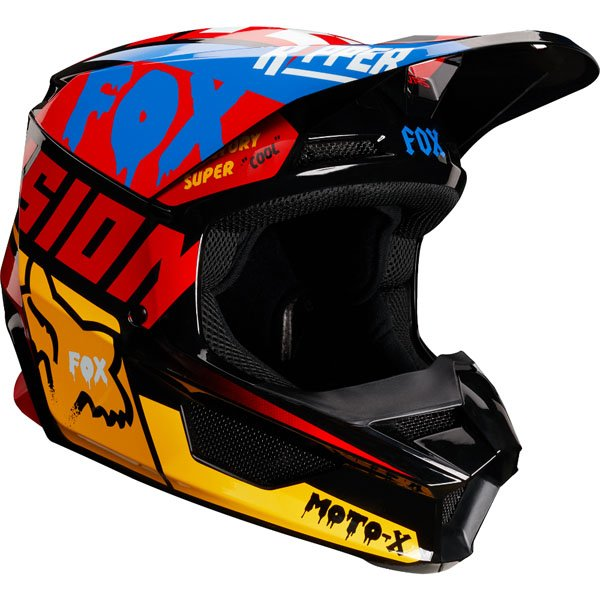 Fox Racing Yth V1 tsar Casque
