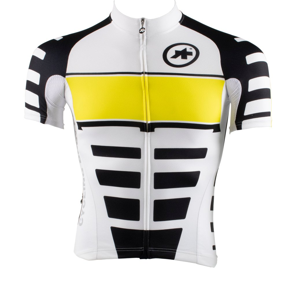 ASSOS SS.UNO/_S7 JERSEY Yellow Volt MEN/'S SMALL