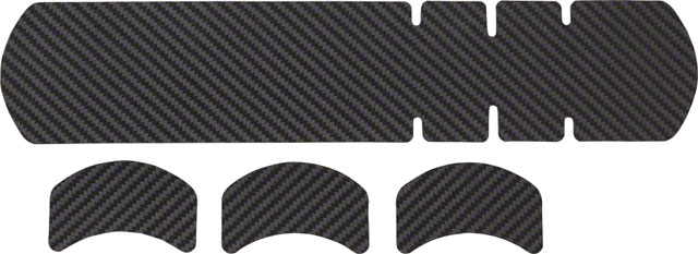 en cuir carbone Lizard Skins Adhesive Vélo Protection Grand Cadre Protecteur