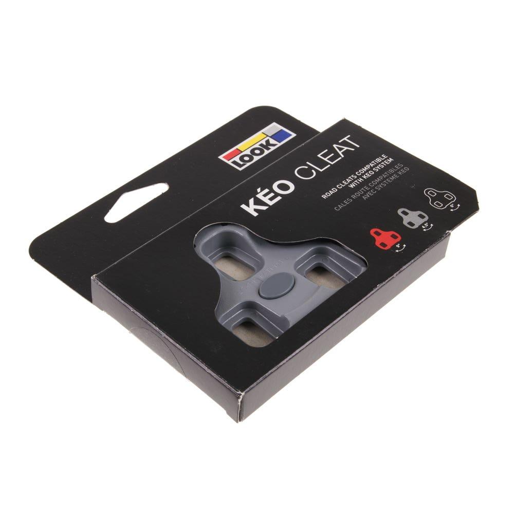 New 2017 Genuine LOOK KEO Bi-Material Cleat Set Grey 4.5 Deg
