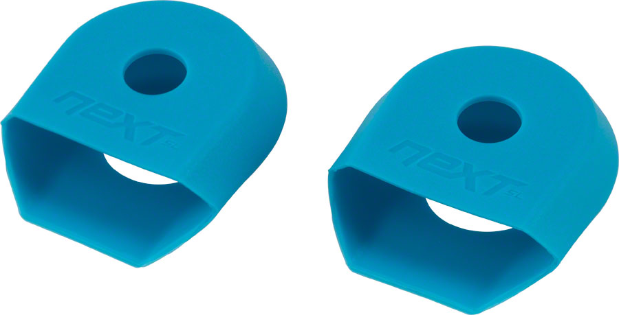 RaceFace Crank Boots For Alloy Cranks 2-Pack BLUE Medium