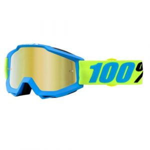 100% ACCURI Goggle Belize - Mirror Gold Lens