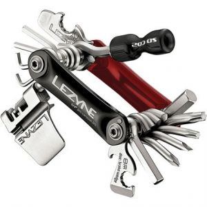 Lezyne RAP-21 CO2 Multi Tool Red/Black