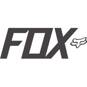 Fox Racing Sticker FOX TDC Matte Charcoal 7