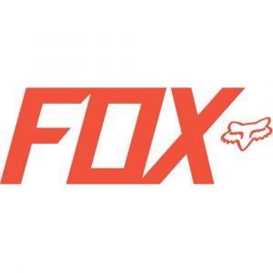 Fox Racing Sticker FOX TDC Flo Orange 7