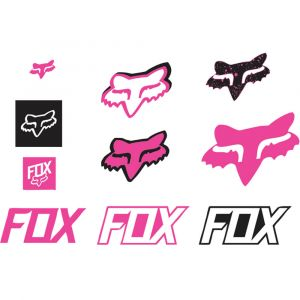 Fox Racing Track Sticker Pack: Pink NS