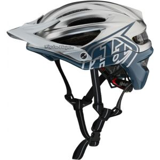 Troy Lee Designs A2 Decoy Helmet MIPS Air Force Blue/Silver M/L