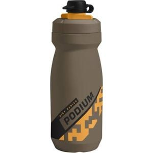 Camelbak Podium Dirt Series Water Bottle: 21oz Shadow Grey/Sulphur