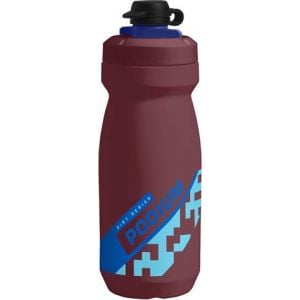Camelbak Podium Dirt Series Water Bottle: 21oz Burgundy/Blue