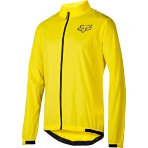 Fox Racing Attack Wind Jacket - Blazing Yellow - SM