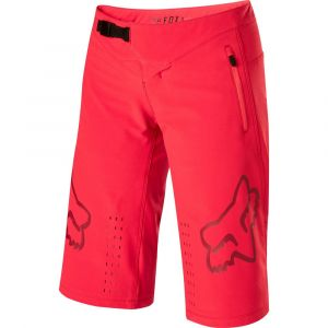 Fox Racing Women's Defend Shorts Rio Red MD