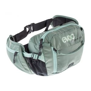 EVOC Hip Pack Race 3L + 1.5L Bladder Hydration Bag 3L Olive/Light Petrol