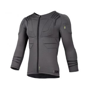 iXS Trigger Upper Body Protection: Gray S/M