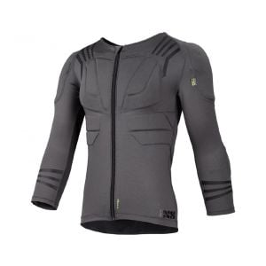 iXS Trigger Upper Body Protection: Gray 2XL