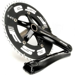 FSA Gossamer TT Megaexo Black 54/42 Crankset 170mm with BB (OEM)