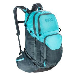 EVOC Explorer Pro 30L Backpack Heather Slate/Heather Blue