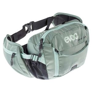 EVOC Hip Pack Race Hydration Bag 3L Olive/Light Petrol