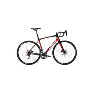 Look 765 Optimum Disc/ Shimano 105/ American Classic 2622 TL Complete Bike 2018 Black/Red L