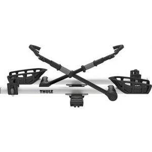 Thule 9035XTS T2 Pro XT 1.25 Hitch Rack 2-Bike Silver and Black