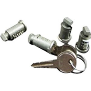 RockyMounts 4-Pack Lock Cores with 2 Keys