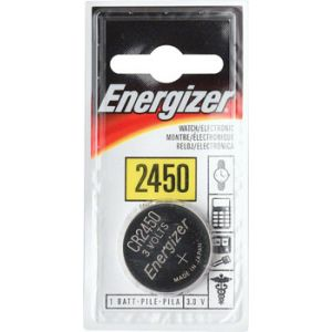 Energizer CR2450 Lithium Battery: Each