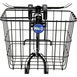 Wald 3114 Front Quick Release Basket with Bolt-On Mount Gloss Black