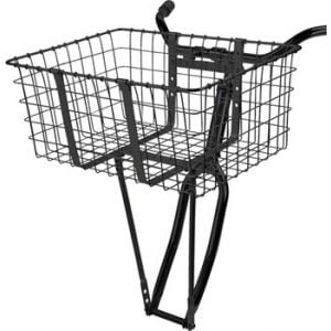 Wald 157 Front Giant Delivery Basket Gloss Black