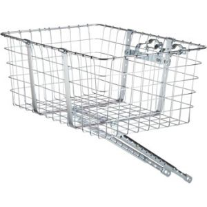 Wald 157 Front Giant Delivery Basket Silver