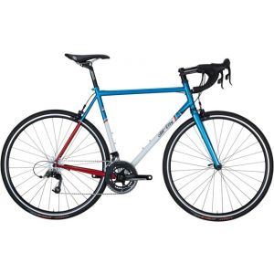 All-City Mr Pink ZONA 11-speed Complete Bike Aqua/Red/White 46cm