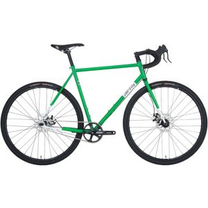 All-City Nature Boy Disc Complete Bike Green/White 43cm