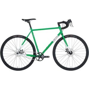 All-City Nature Boy Disc Complete Bike Green/White 49cm
