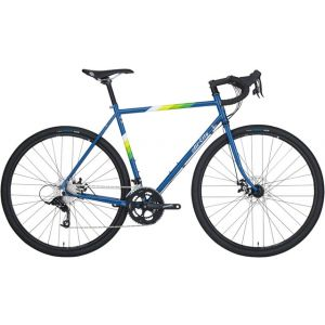 All-City Space Horse Disc Complete Bike Blue/White 43cm