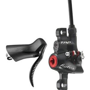 TRP Hylex Hydraulic Post Mount Rear Disc Brake with Right Hand Drop Bar Lever