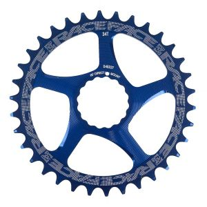 Race Face Cinch DM  34T Blue 10/11s Chainrings