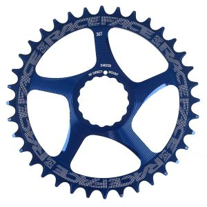 Race Face Cinch DM  36T Blue 10/11s Chainrings