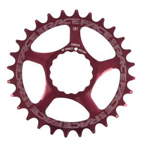 Race Face Cinch DM  28T Red 10/11s Chainrings
