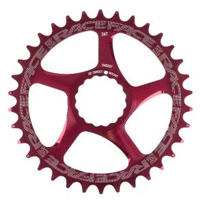 Race Face Cinch DM  34T Red 10/11s Chainrings