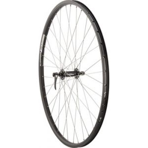 Quality Wheels Front Wheel Mountain Rim Alex 700c 100mm 36h DH19 Black /