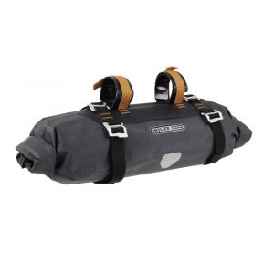 Ortlieb Bike Packing Handlebar Pack Small: 9 Liter Gray/Black