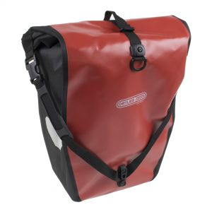 Ortlieb Back-Roller Classic Pannier: Pair Red/Black