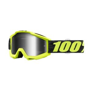 100% Accuri Goggle Tresse with Mirror Silver Lens