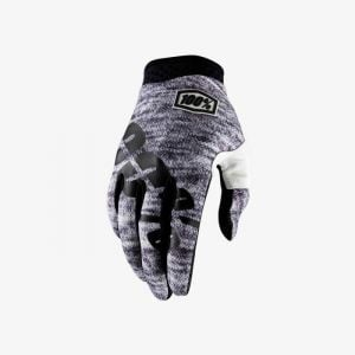 100% iTrack Full Finger Glove: Heather MD