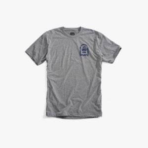 100% TOMBSTONE Tee-shirt Heather Gray MD