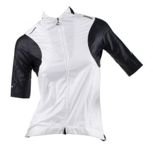 ASSOS TSP laalaLai Lady Jersey With Wind Protector White Panther Small