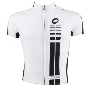 Assos SS Mille Jersey White Panther  Small