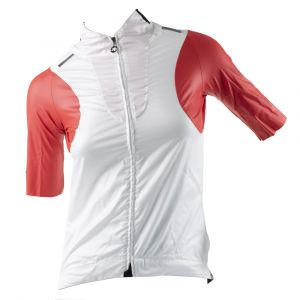 ASSOS TSP laalaLai Lady Jersey With Wind Protector Red Swiss XL