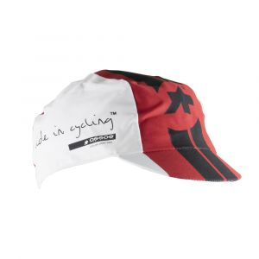 ASSOS Summer Cap One Size Red Swiss